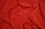 S6010 Silk Crepe De Chine, 114 cm, red